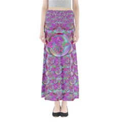 Paradise Of Wonderful Flowers In Eden Maxi Skirts