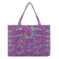 Paradise Of Wonderful Flowers In Eden Medium Tote Bag