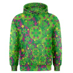 Christmas decor - green Men s Pullover Hoodie