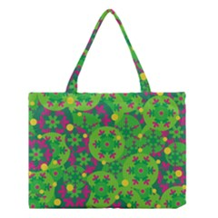 Christmas decor - green Medium Tote Bag