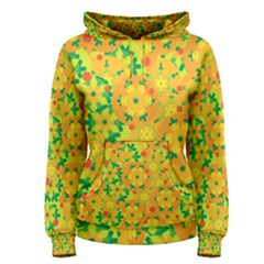 Christmas decor - yellow Women s Pullover Hoodie