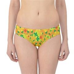 Christmas decor - yellow Hipster Bikini Bottoms