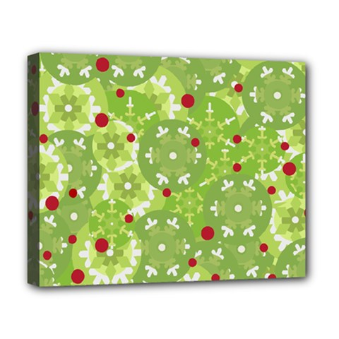 Green Christmas decor Deluxe Canvas 20  x 16