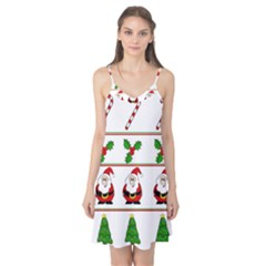 Christmas pattern Camis Nightgown