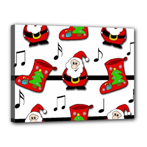 Christmas song Canvas 16  x 12