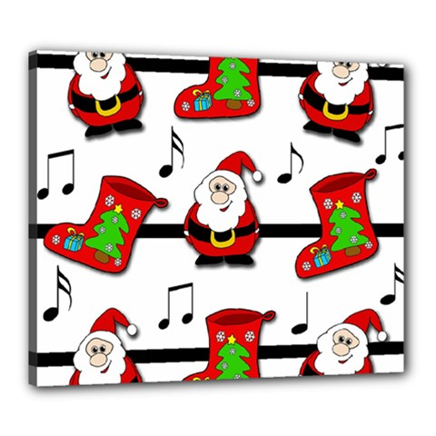 Christmas song Canvas 24  x 20