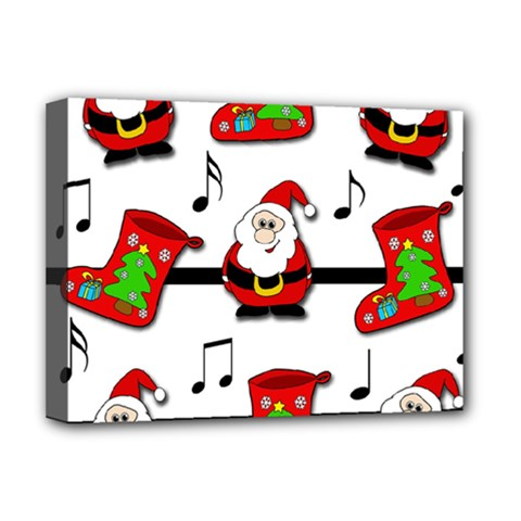 Christmas song Deluxe Canvas 16  x 12