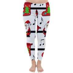Christmas song Winter Leggings