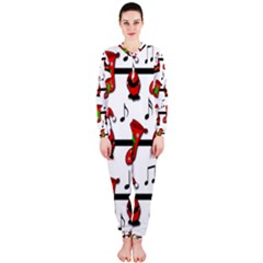 Christmas song OnePiece Jumpsuit (Ladies)