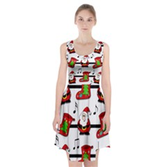 Christmas Song Racerback Midi Dress