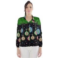 Christmas balls - pastel Wind Breaker (Women)