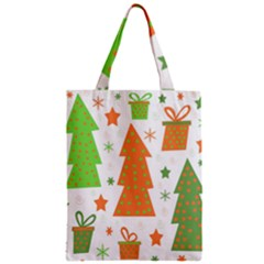 Christmas design - green and orange Classic Tote Bag