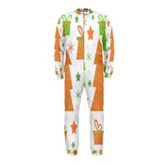 Christmas design - green and orange OnePiece Jumpsuit (Kids)