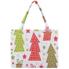 Christmas design - green and red Mini Tote Bag