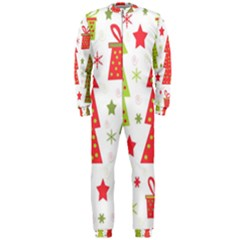 Christmas design - green and red OnePiece Jumpsuit (Men)