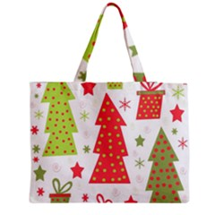 Christmas design - green and red Medium Tote Bag