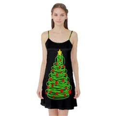 Christmas tree Satin Night Slip