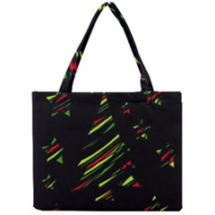 Abstract Christmas tree Mini Tote Bag