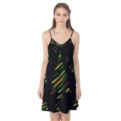 Abstract Christmas tree Camis Nightgown