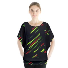 Abstract Christmas tree Blouse