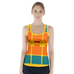 Squares and rectangles                    Racer Back Sports Top