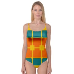 Squares and rectangles                         Camisole Leotard