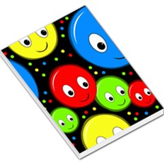 Smiley faces pattern Large Memo Pads