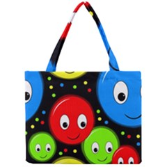 Smiley faces pattern Mini Tote Bag