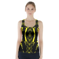 One Hat Racer Back Sports Top