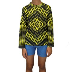Yyyyyyyyy Kid s Long Sleeve Swimwear