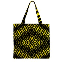 Yyyyyyyyy Zipper Grocery Tote Bag