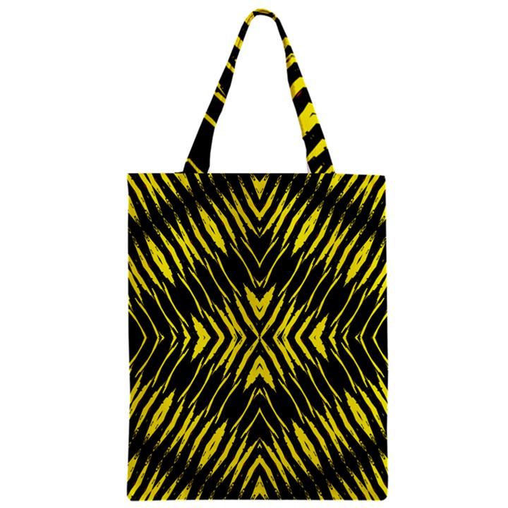 Yyyyyyyyy Zipper Classic Tote Bag
