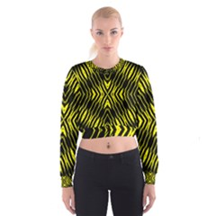 Yyyyyyyyy Women s Cropped Sweatshirt