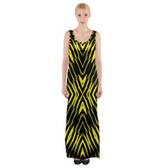 Yyyyyyyyy Maxi Thigh Split Dress