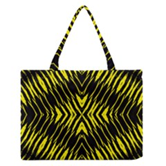 Yyyyyyyyy Medium Zipper Tote Bag