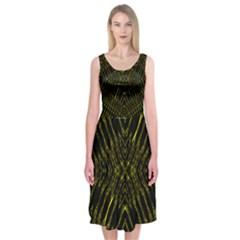 Yyyyyyyyyry Midi Sleeveless Dress