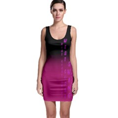 Wcs   Pink Purple Bodycon Dresses