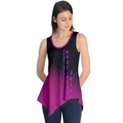 Wcs   Pink Purple Sleeveless Tunic