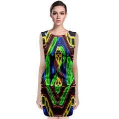 Kyukyu Classic Sleeveless Midi Dress