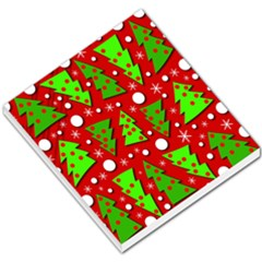 Twisted Christmas trees Small Memo Pads