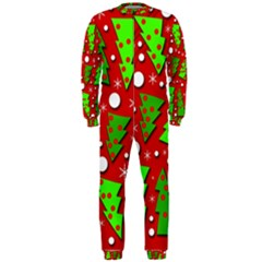 Twisted Christmas trees OnePiece Jumpsuit (Men)