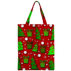 Christmas trees and gifts pattern Classic Tote Bag