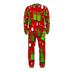 Christmas trees and gifts pattern OnePiece Jumpsuit (Kids)