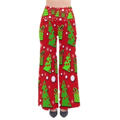 Christmas trees and gifts pattern Pants