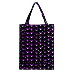 Purple dots pattern Classic Tote Bag
