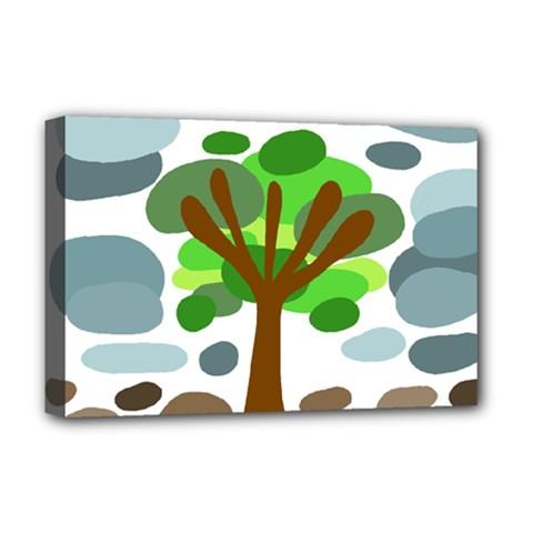 Tree Deluxe Canvas 18  x 12
