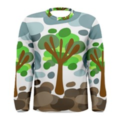 Tree Men s Long Sleeve Tee