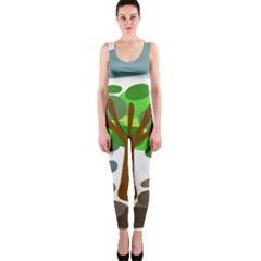 Tree OnePiece Catsuit