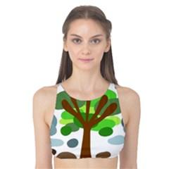 Tree Tank Bikini Top