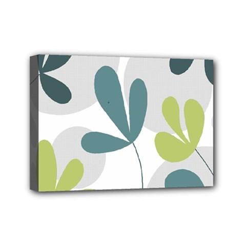 Elegant floral design Mini Canvas 7  x 5